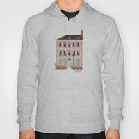 Queens Square Bristol by Charlotte Vallance Hoody