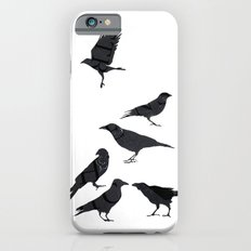 kargalar (crows) iPhone 6 Slim Case