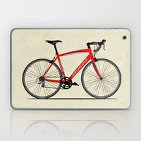 Specialized Racing Road Bike Laptop & iPad Skin