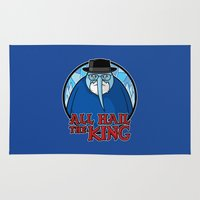 The King Of Ice Rug
