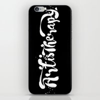 Art Is Therapy iPhone & iPod Skin