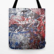 SupermanAbstract Tote Bag