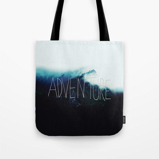 Adventure Mountain Tote Bag