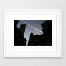 too Fast! Framed Art Print
