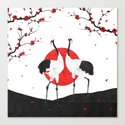 Love's Dance - Spring Version Canvas Print