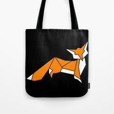Origami Little Fox Tote Bag