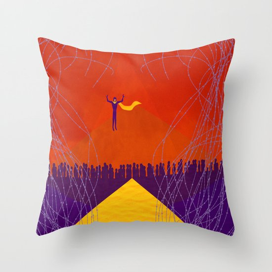 Magneto Was Right  Throw Pillow