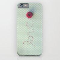 love in string iPhone 6 Slim Case