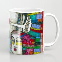 MADONE (hommage to Klimt) Mug
