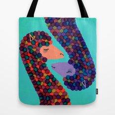 Alpacas in Love Tote Bag