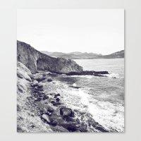 Tristes rivages Canvas Print