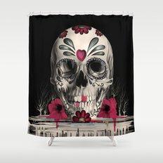 Pulled Sugar Shower Curtain