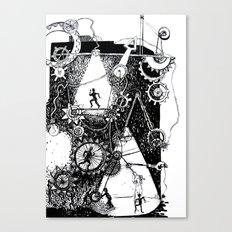 machine Canvas Print