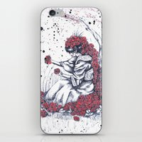The Color Of The Flowers iPhone & iPod Skin