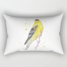 Rectangular Pillow - Yellow Bird - Marissa Yunque