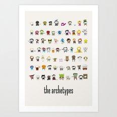 Archetypes Art Print