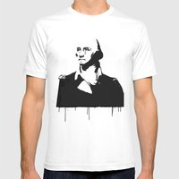 George Washingtear Mens Fitted Tee White SMALL