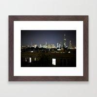 Chicago Ho Framed Art Print
