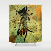 Hiding Place Shower Curtain
