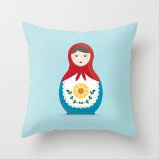 MATRYOSHKAS SERIES - ISOLDA Throw Pillow