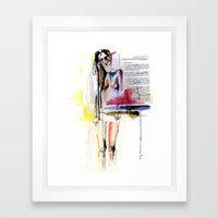 Sense II Framed Art Print