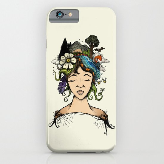 Mother nature iPhone & iPod Case