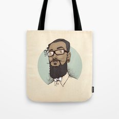 Portrait of Abraham Tote Bag