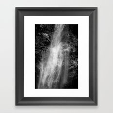 Floating. Framed Art Print