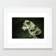 DOG DAYS Framed Art Print