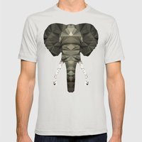 Polygon Heroes - The Des… Mens Fitted Tee Silver SMALL