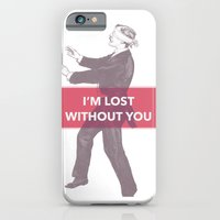 I'm lost without you iPhone 6 Slim Case