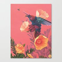 Pollinators II Canvas Print