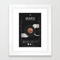 OMG SPACE: Mars 1960 - 1… Framed Art Print