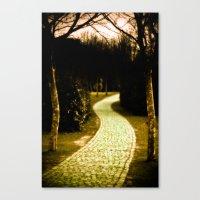 The Way To Wonderland Canvas Print