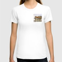 Sweet-Heart Womens Fitted Tee White SMALL