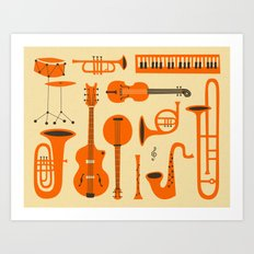 Just Jazz Art Print