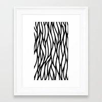 Raw Pattern Series: n. 4 Framed Art Print