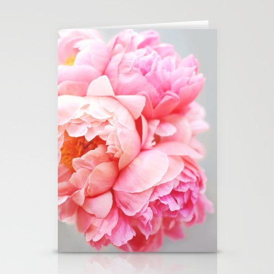 Peonies Forever Stationery Card