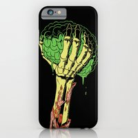 Zombie Skeleton Brain Vintage iPhone 6 Slim Case