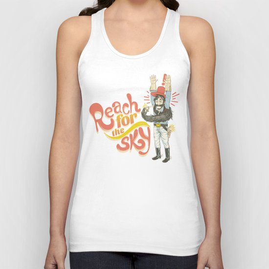 Reach for the Sky Unisex Tank Top