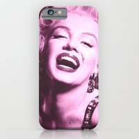 iPhone & iPod Case featuring Marilyn by Visionary Soul Designs
