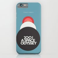 iPhone & iPod Case featuring 2001 a Space Odyssey - Stanley Kubrick Movie Poster by Stefanoreves