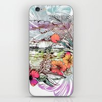 Sail Away iPhone & iPod Skin