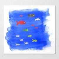Fishies  Canvas Print