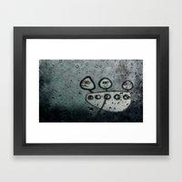 Heavy Rain Framed Art Print