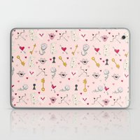 happy valentine Laptop & iPad Skin