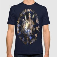Paper Chase Mens Fitted Tee Navy SMALL