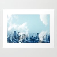 Skyline B Art Print