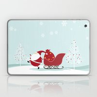 Happy Santa Laptop & iPad Skin