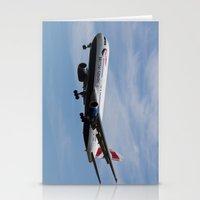 British Airways Boeing 767 Stationery Cards